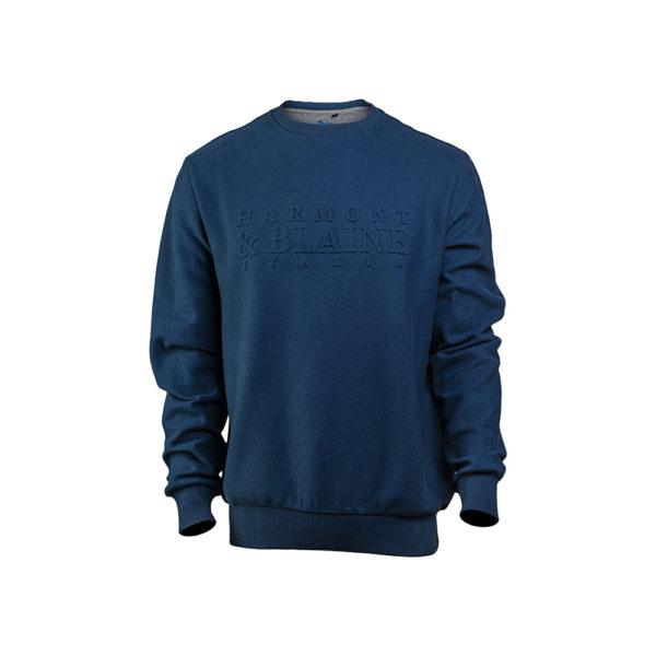 sudadera-harmont-blaine-letras-3d-azul-marino-1 copia